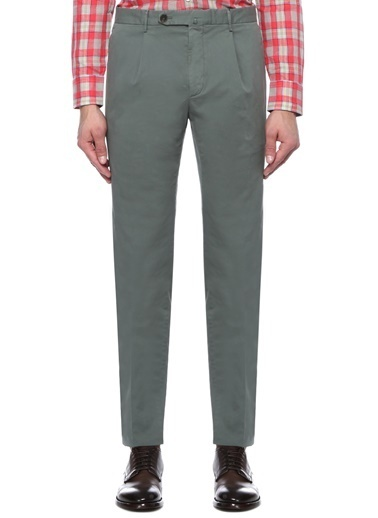 Corneliani Id Pantolon Yeşil